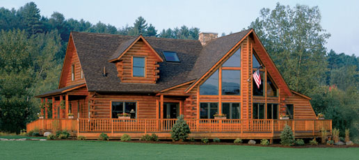About the original lincoln logs the original lincoln logs for Panelized homes new york