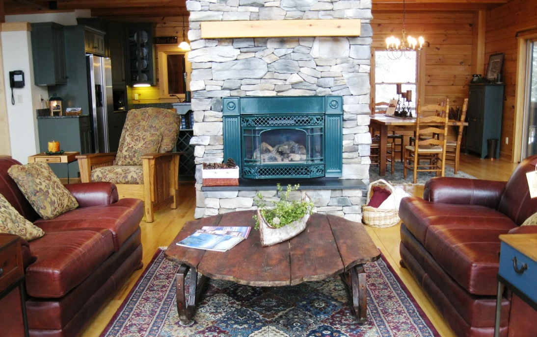 Lake George Fireplace