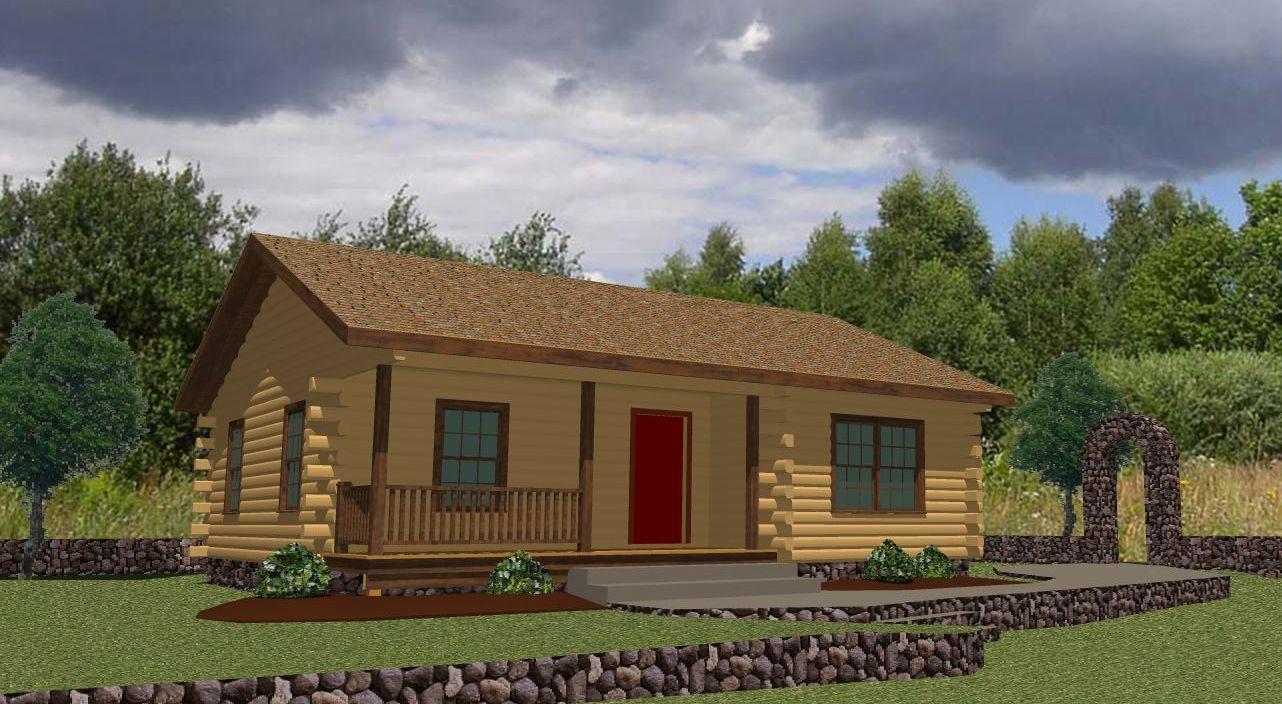 custom log homes & panelized homes : the original lincoln logs
