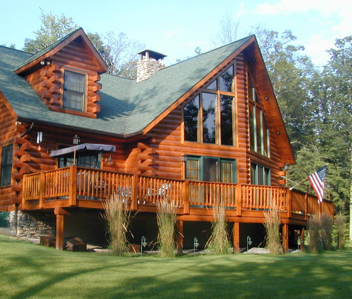 Lincoln log home floor plans